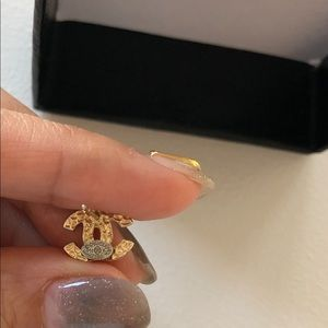 CHANEL Jewelry - Chanel Crystal CC Earrings